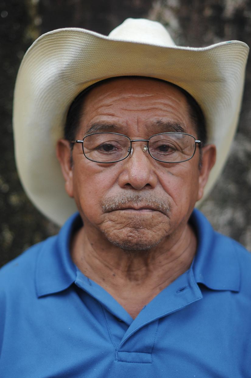 Cirilo de León Miranda, 78 años.