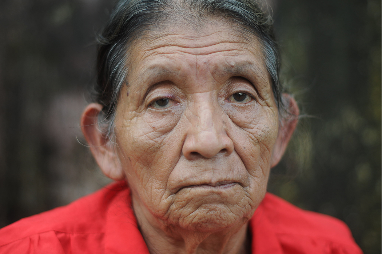 Victoria Zacarías, 76 años.