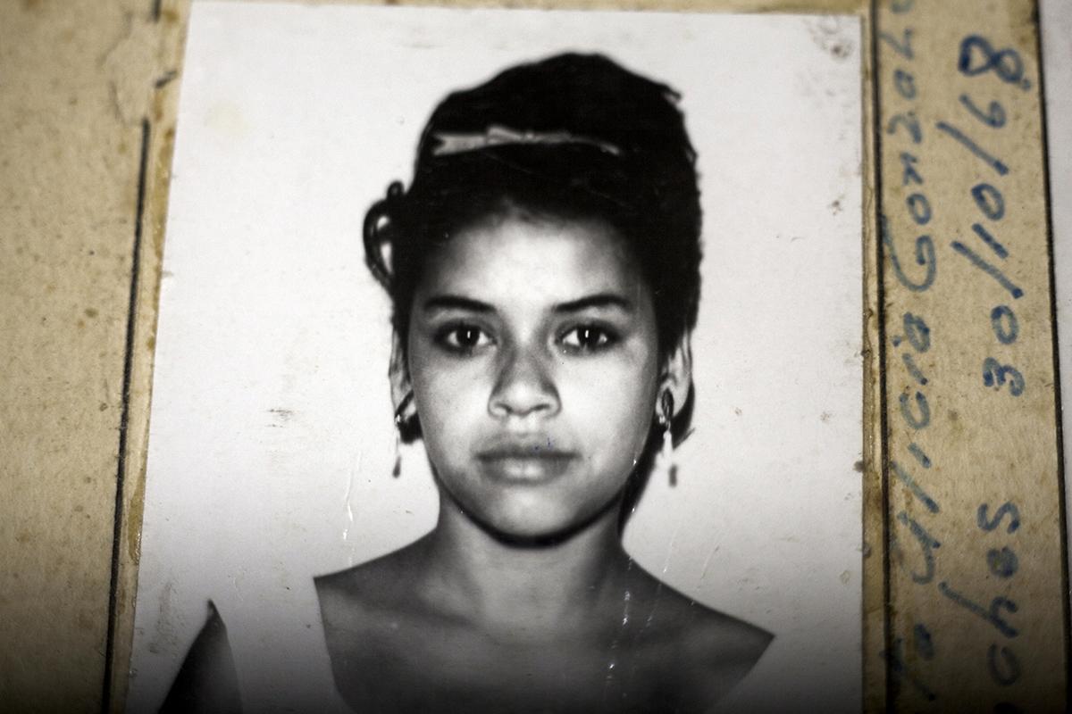 Marta Alicia Gonzáles Sánches, detenida el 30/10/1968
