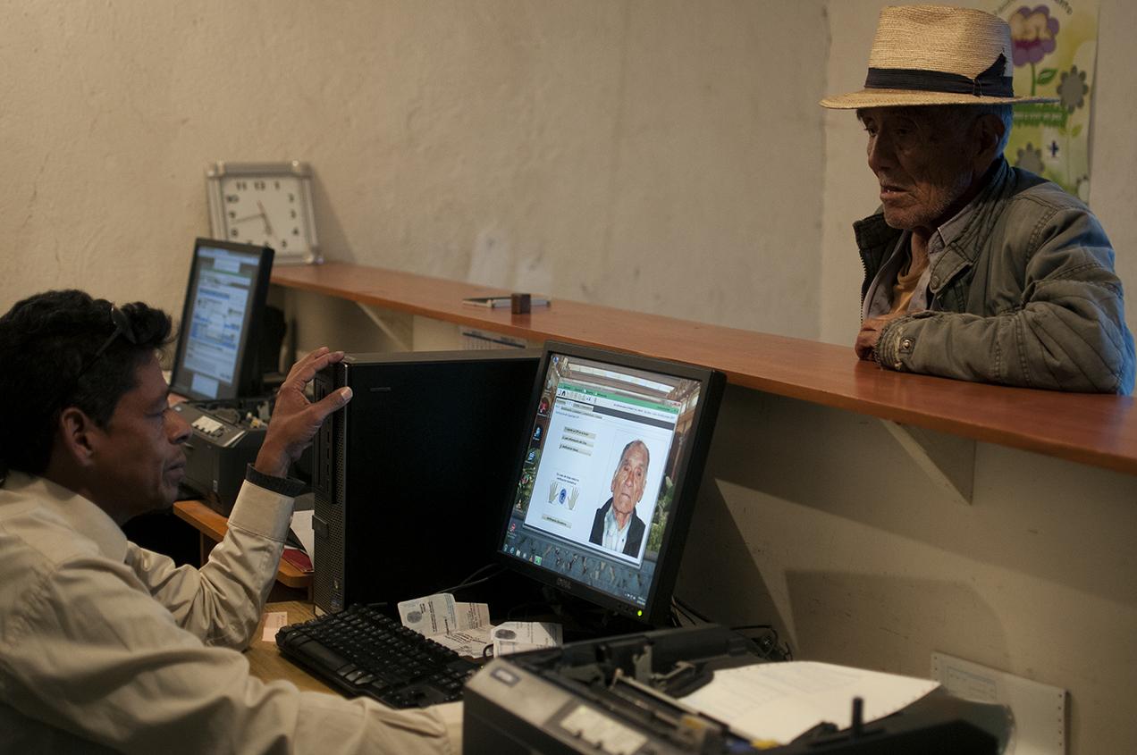 Un total de 32 mil 201 ciudadanos de Nebaj, El Quiché, estaban inscritos en el padrón electoral.