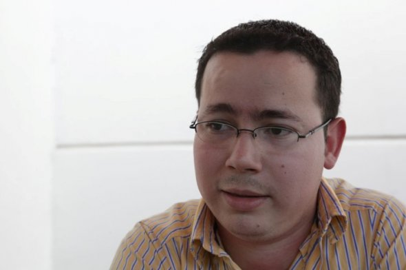 Miguel Bonilla, creador de la aplicación Bluetton Eventos. Diana Ulloa/Confidencial.