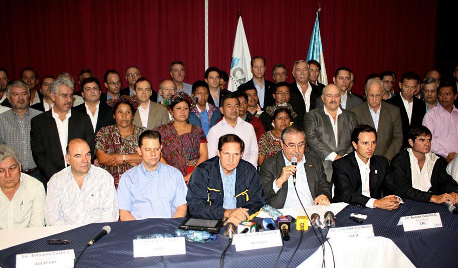 El 19 de mayo de 2013, el Cacif en pleno se opuso a la sentencia de genocidio, que sería anulada por la CC un día después.