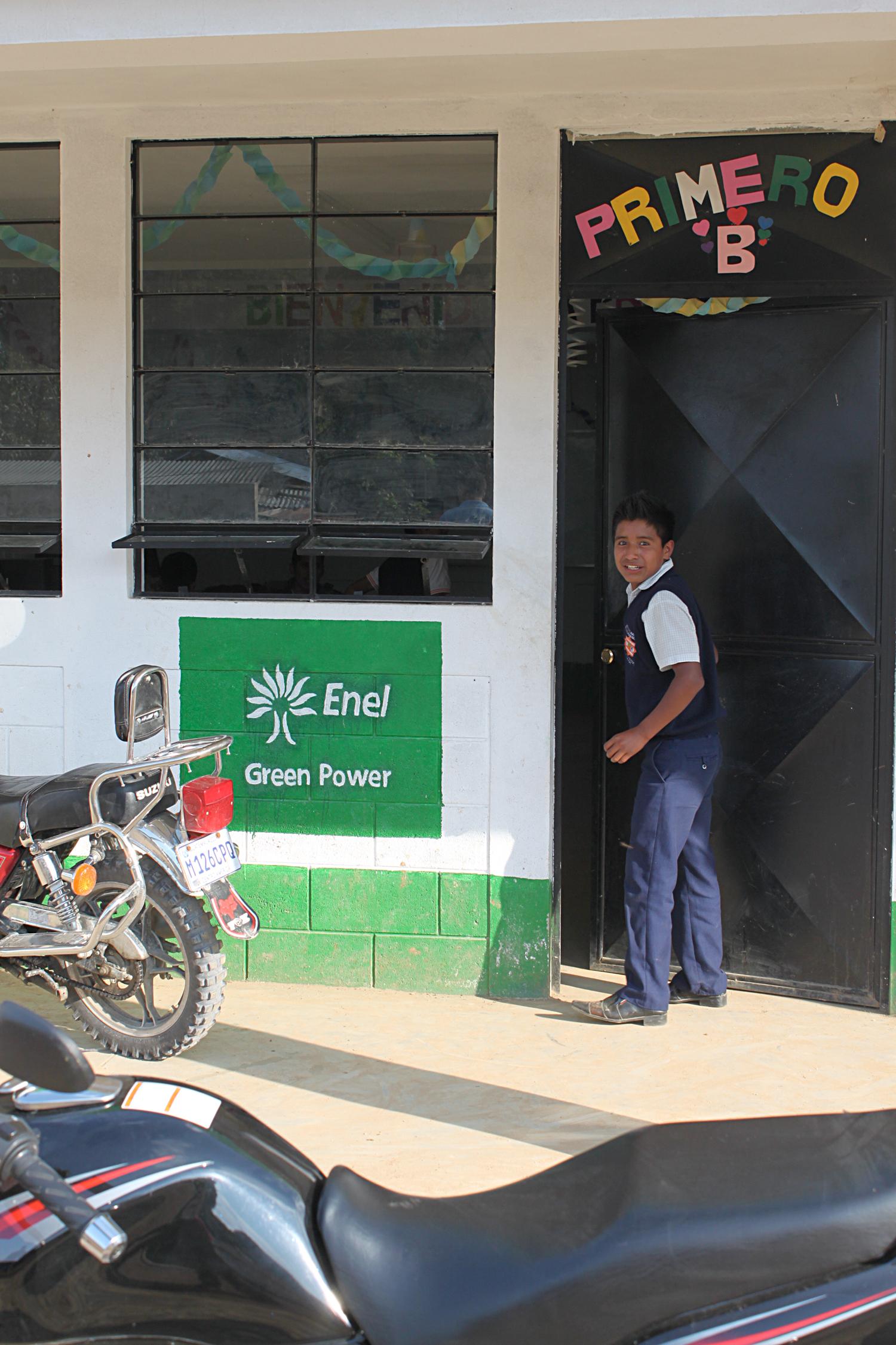 La oficina de Enel. Foto de Dennys Mejía