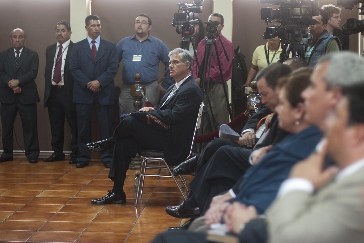 """Ricardo Sagastume pidió a la CC el respeto de """"los plazos constitucionales""""."""