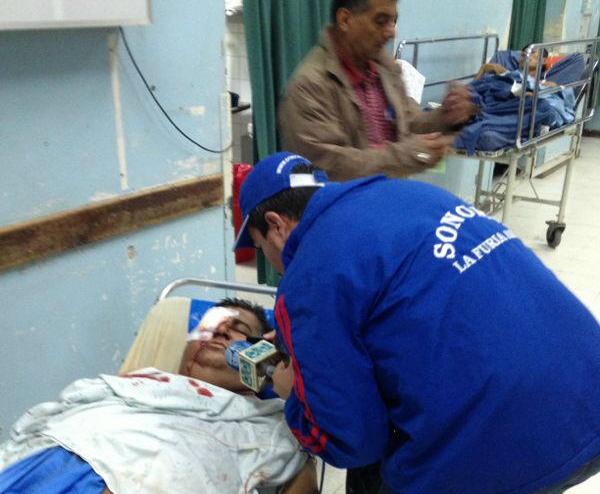 El periodista Fredy Rodas, corresponsal de Radio Sonora en Mazatenango, fue atacado a balazos y trasladado al hospital Roosevelt.