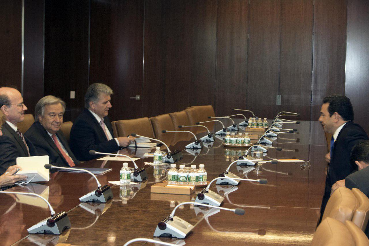Foto de Gobierno de Guatemala