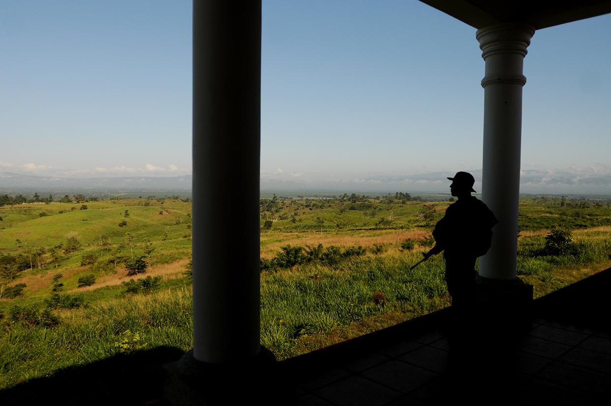 Al fondo se observa el territorio que una vez fue propiedad de Mario Ponce.