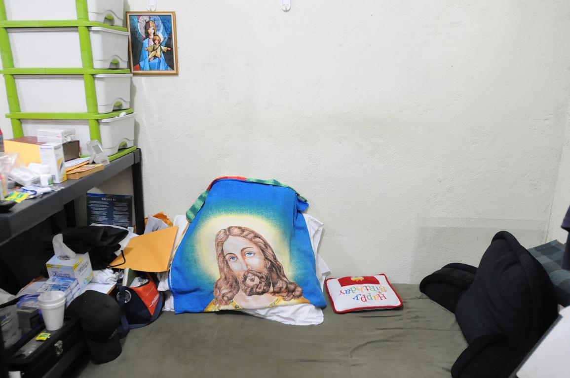 La cama de Francisco Valdés Paíz.