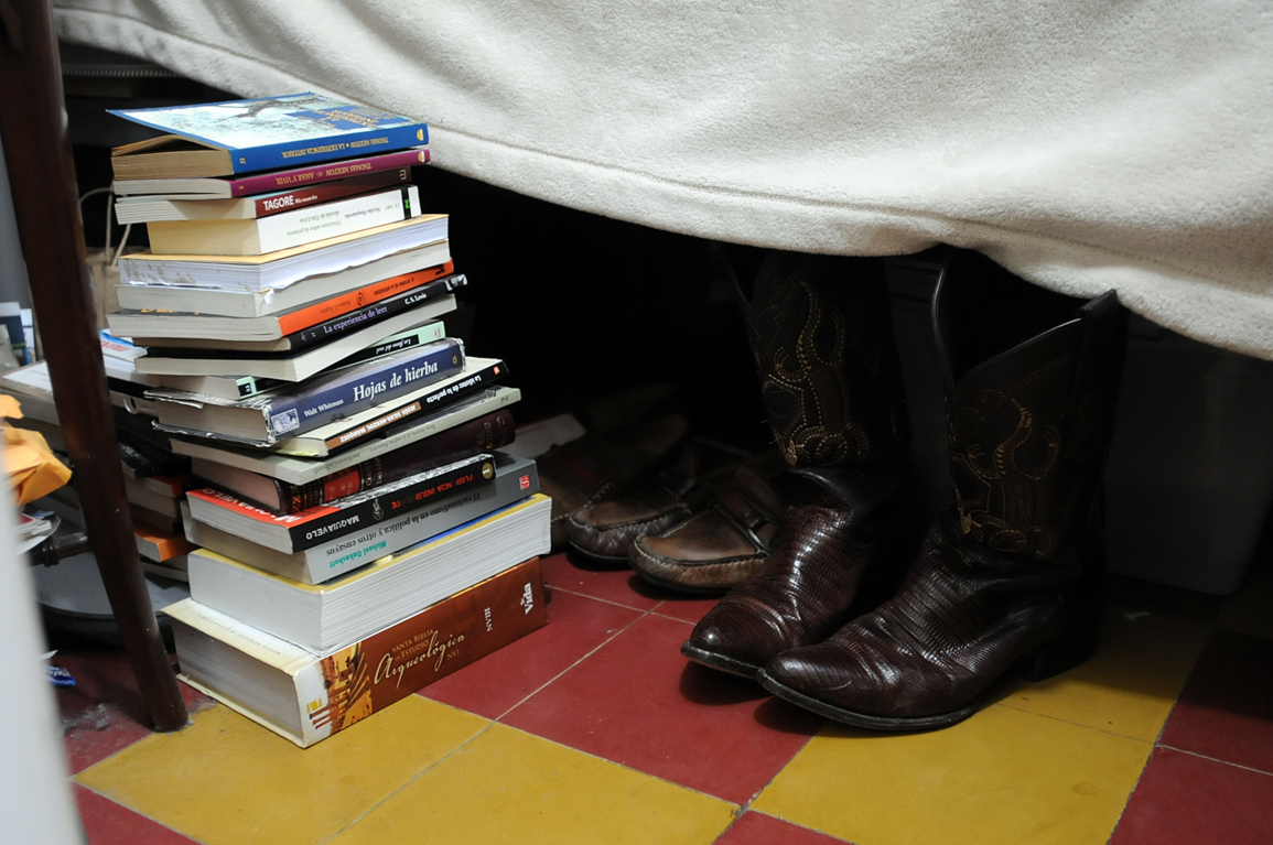 Los libros y las botas.