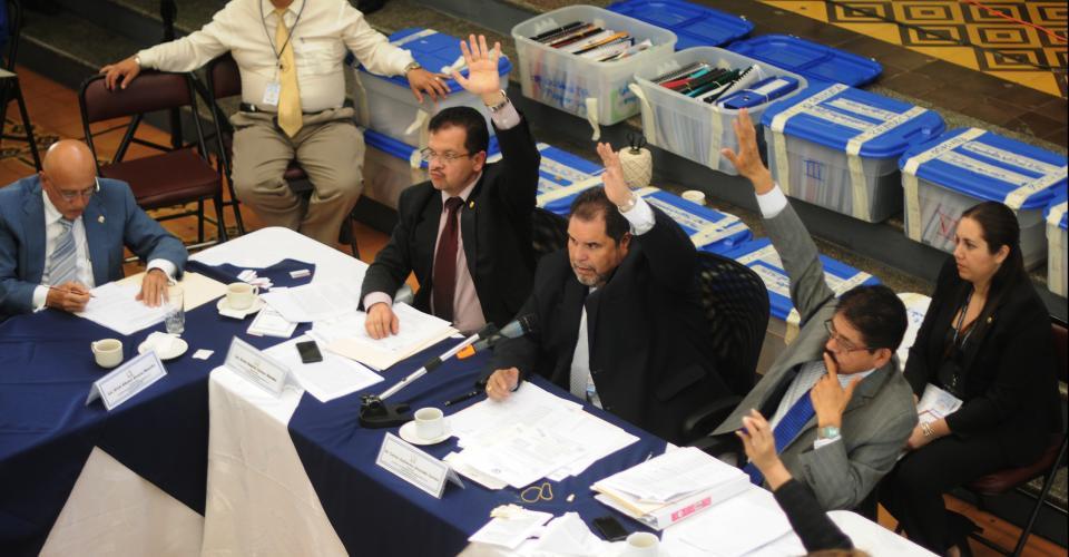 Comisionados para las Cortes de Apelaciones. Fotografía de Sandra Sebastián