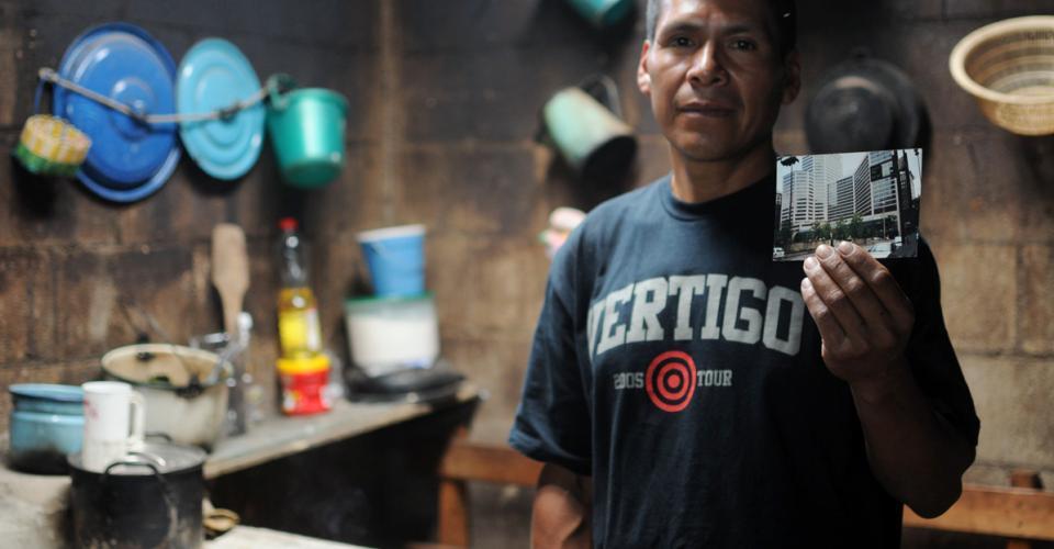 Nicolás González era uno de los 290 guatemaltecos detenidos en la redada más grande de la historia estadounidense.
