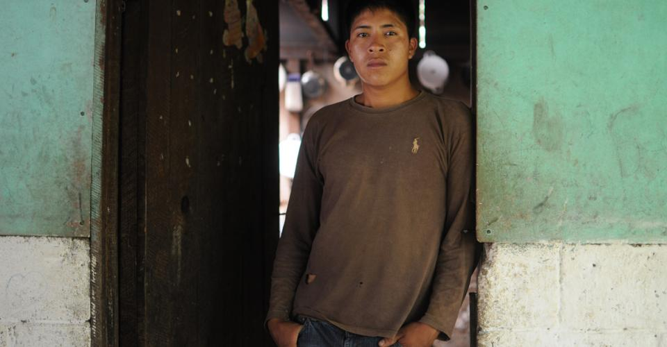 Dany era menor de edad cuando ocurrió la redada que lo separó de su madre. Fue deportado después.