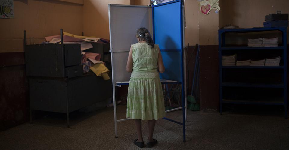 En Pueblo Nuevo Viñas se repitieron las elecciones porque el medio obligó a cancelarlas en la primera vuelta.