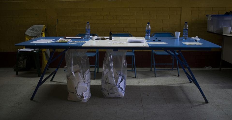 Pueblo Nuevo Viñas es uno de los 11 municipios en los que se realizó la segunda vuelta presidencial y elecciones municipales. Los comicios se repitieron debido a conflictos y disturbios ocurridos el pasado 6 de septiembre.