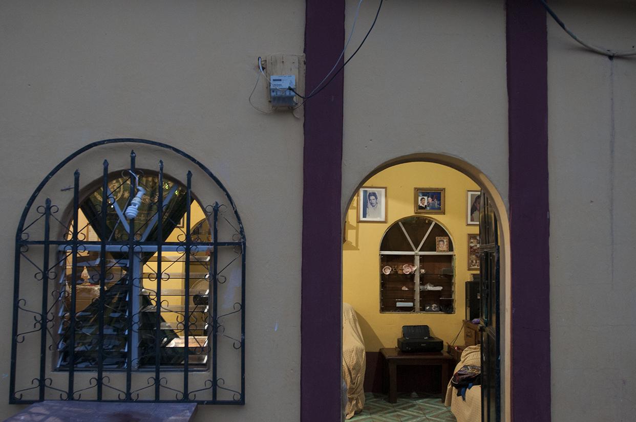Una de las casas de uno de los comunitarios que decidió tomar energía de Energuate.