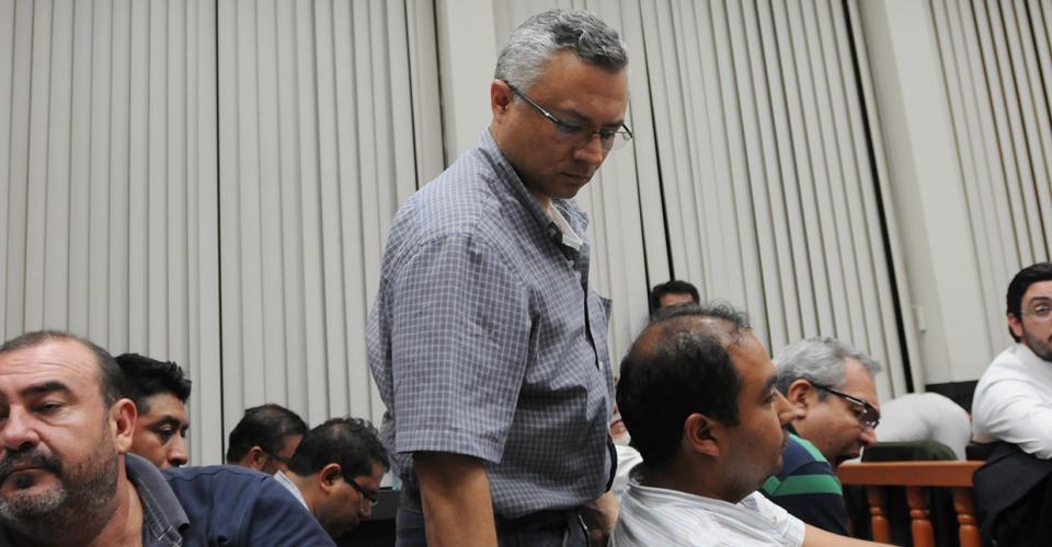 Salvador Estuardo González (alías ECO), fue identificado como el líder de la estructura externa superior de la red de defraudación. González obtuvo su libertad bajo fianza.