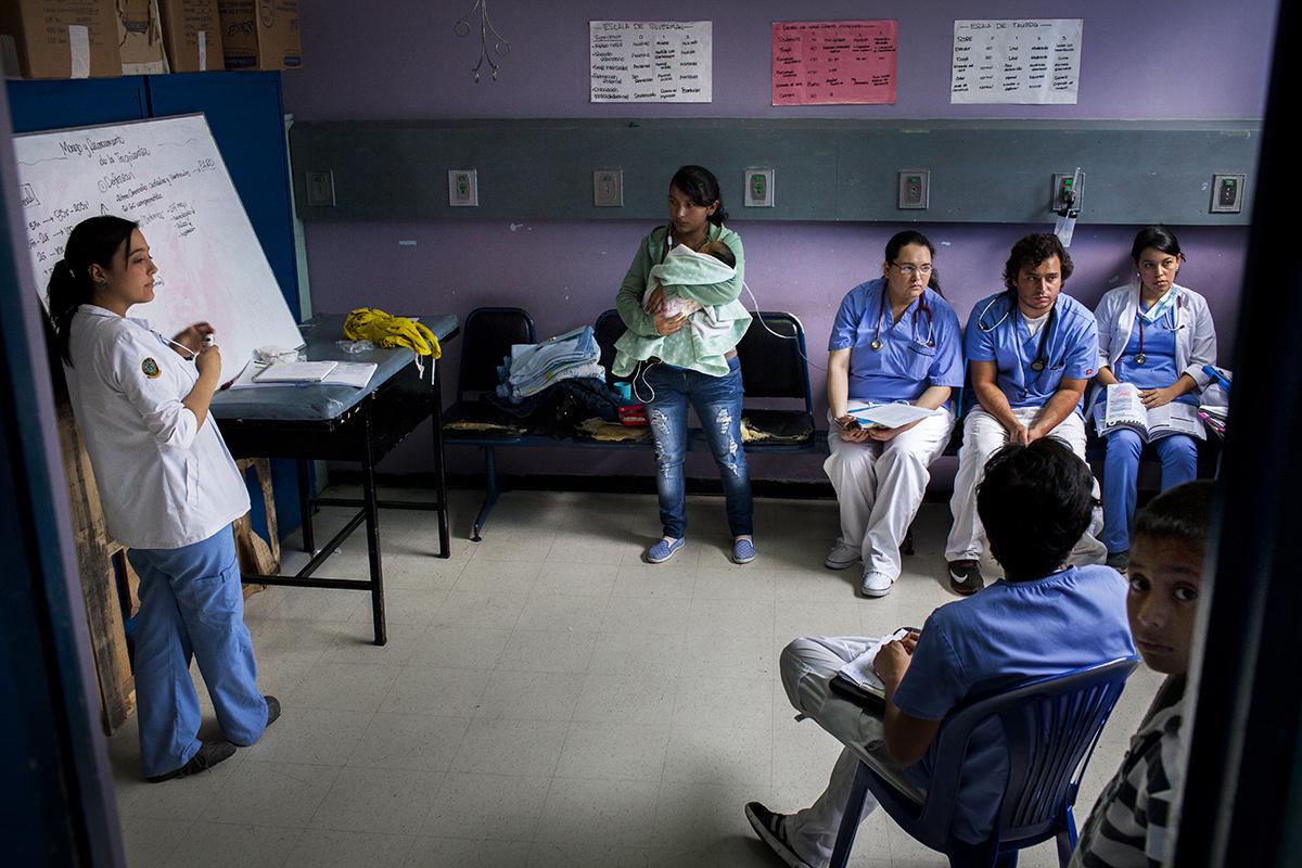 La clase de manejo y reconocimiento de taquicardia infantil se da en el mismo cuarto de terapia respiratoria