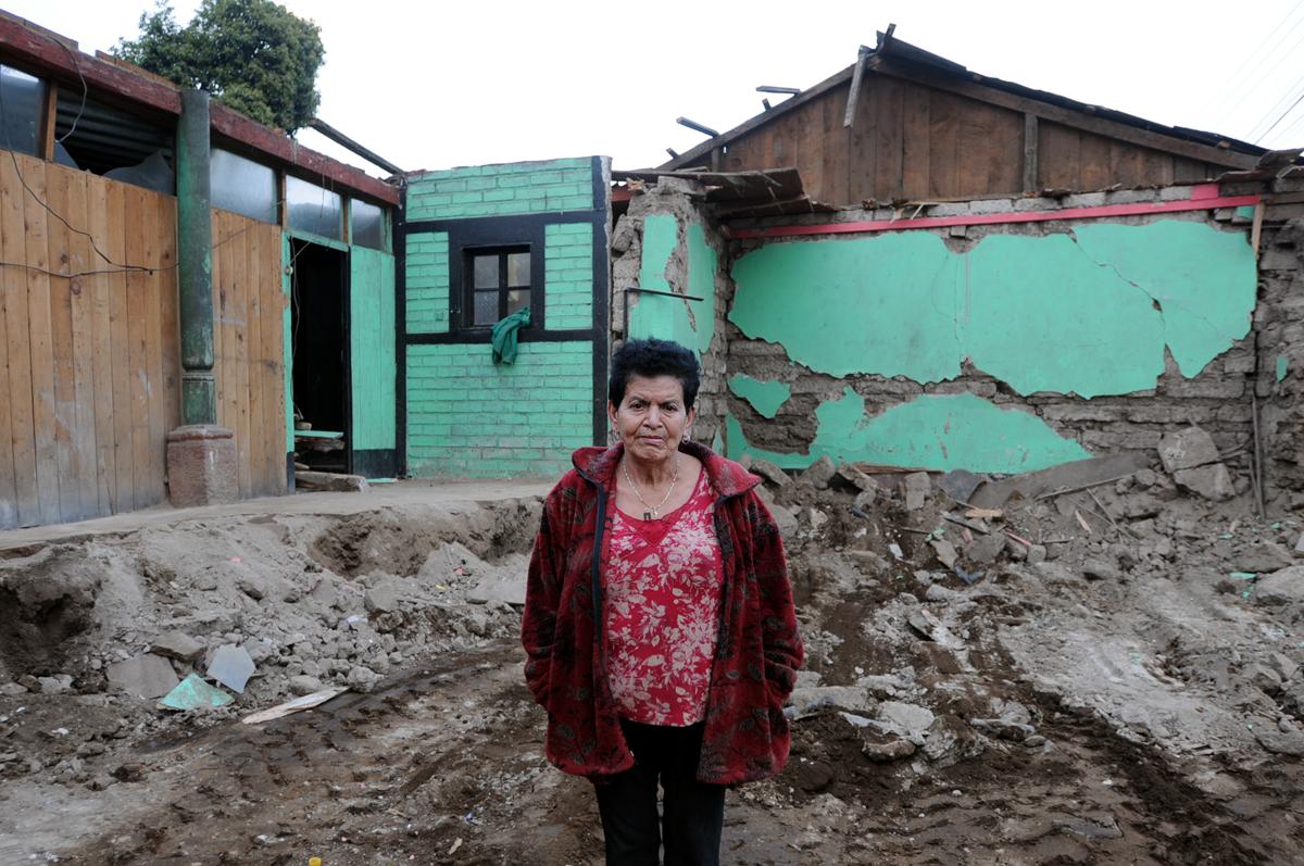 Juana Maldonado usaba su casa para vivir y para su negocio.