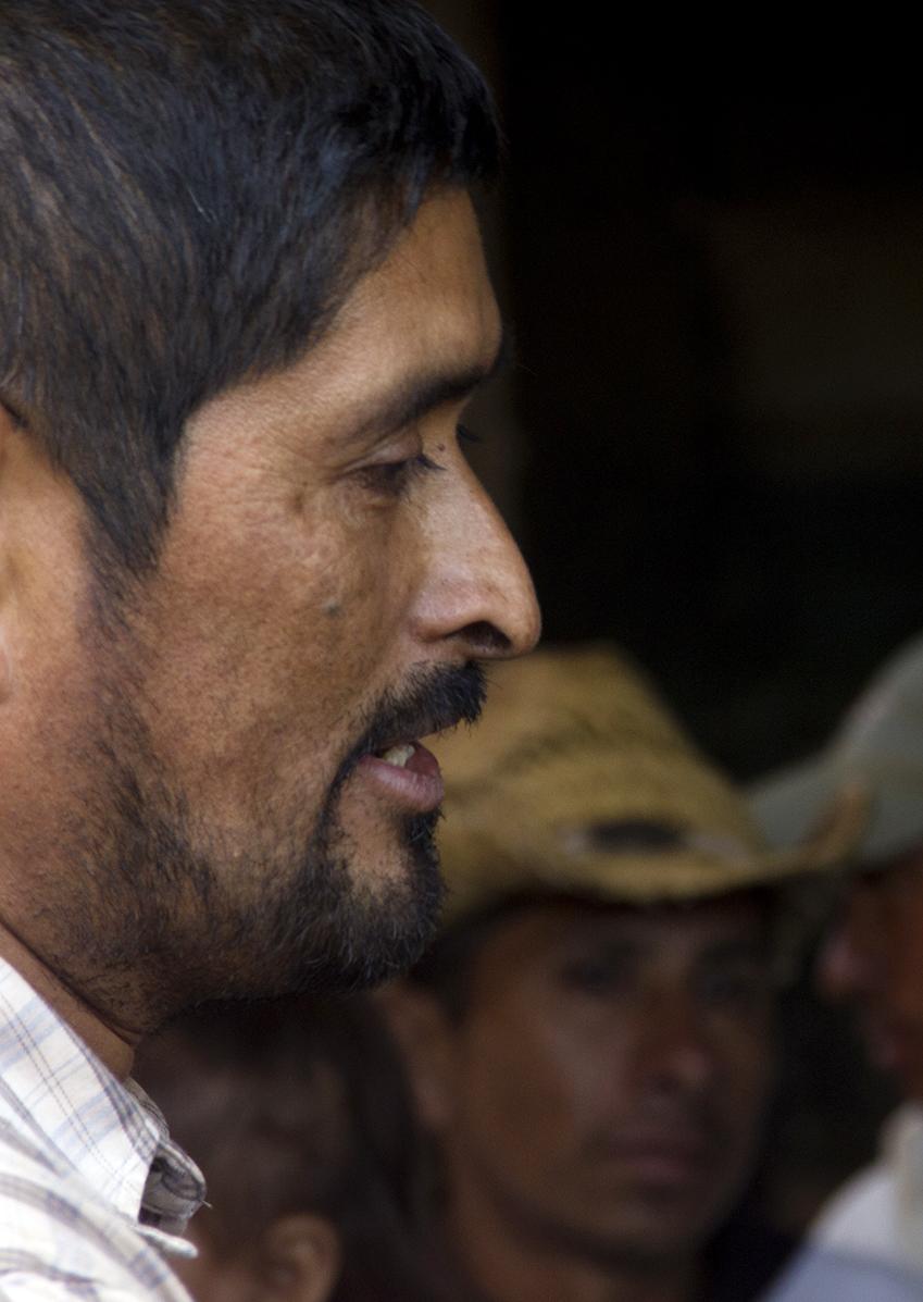 """""""No puedo decir si este secuestro fue por la mina o fue por el problema con las tierras""""."""