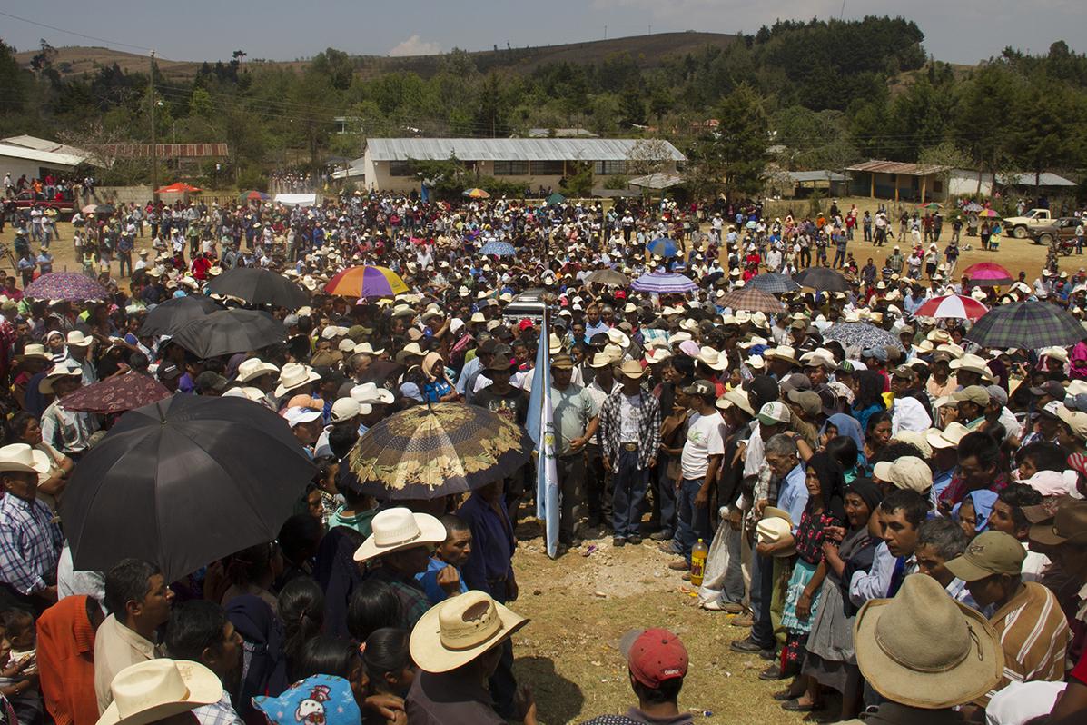 La comunidad de Santa María Xalapán.