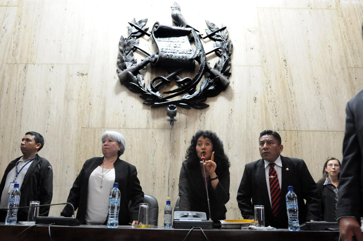 El Tribunal que preside la jueza Yasmín Barrios.
