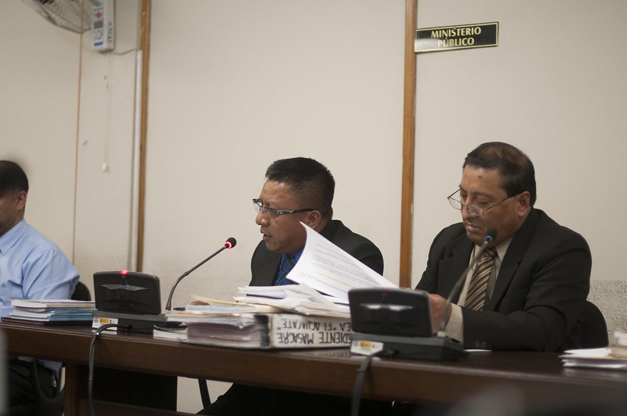 El Ministerio Público pidió, en un principio, 690 años de prisión para Solano Barillas.