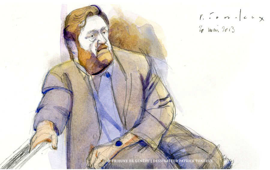 """""""No maté a nadie"""", dijo Erwin Sperisen en el Tribunal Suizo."""