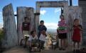 """Asentamiento """"Regalito de Dios"""", Ciudad Peronia."""