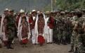 Ejército a cargo del desfile del de la independencia en Nebaj, Quiché.