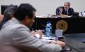 El momento de la sentencia del juez Miguel Ángel Gálvez.