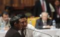 Bernal Brito requirió un interprete porque habla únicamente el idioma ixil.