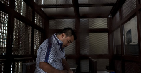 Abelino Chub Caal, líder comunitario Q'eqchi
