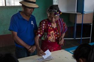 Sandra Torres recibió el 53 % de los votos en El Quiché. Los programas sociales configuró el voto a favor de la candita de la UNE.