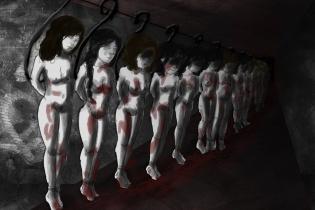 """""""Sus cuerpos son sus cuerpos"""" / Ilustración: Gaby Futch"""