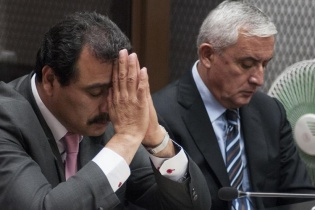 """El Ministerio Público acusó a Otto Pérez Molina de ser uno de los líderes de la red de defraudación aduanera """"La Línea""""."""