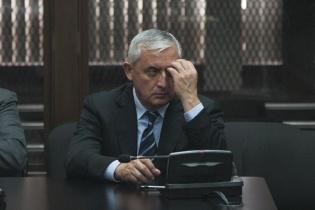 Otto Pérez Molina debe permanecer tres meses en prisión preventiva mientras el Ministerio Público realiza la investigación.