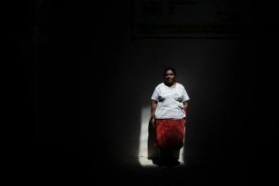 Carolina estuvo tres años encerrada, prostituida. Fotografía de Sandra Sebastián.