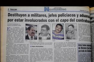 Nueve oficiales del ejército de Guatemala fueron destituidos por estar involucrados con el capo del contrabando. También fueron relevados jefes policiacos y aduanales.