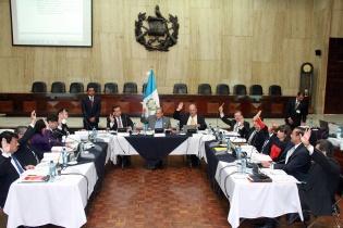 Los integrantes de la Comisión de Postulación para Fiscal General de la República.