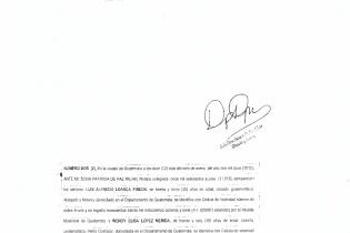 Acta de constitución de la empresa Soluciones Integrales Profesionales, S.A.