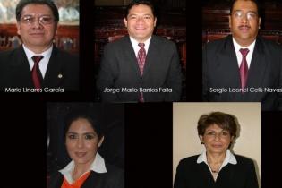 Integrantes de la Comisión Pesquisidora.