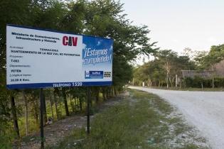 mantenimiento de la red vial no pavimentada, según el Ministerio de Comunicaciones Infraestructura y Vivienda.