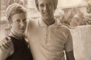 Miriam Lezcano y Roque Dalton en La Habana.