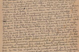 Carta de Dalton a Miriam Lezcano.