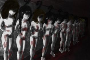 """""""Sus cuerpos son sus cuerpos"""". Ilustración de Gaby Futch."""