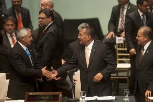 Luego de varios años de carrera legislativa, Arístides Crespo es el nuevo presidente del Congreso de la República.
