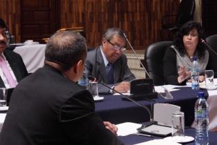 Donado Vivar, señaló que la persecución penal estratégica del Ministerio Público está basada en desestimación de casos.