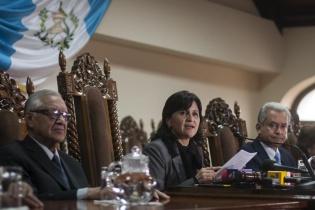 Los magistrados de la Corte de Constitucionalidad otorgaron amparo provisional a cinco acciones planteadas que dejaron en suspenso la elección de magistrados.
