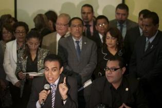 Obdulio Reyes, miembro de la comisión de postulación, y recién electo para ser magistrado, rechazó, junto al resto de jueces elegidos, las acciones contra proceso de elección.