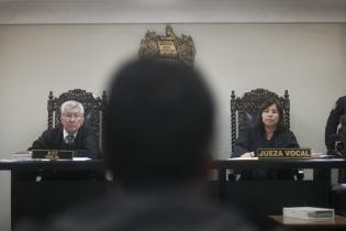 El juez Walter Jiménez Texaj espera que todas las pruebas sean expuestas en dos audiencias más y se podrá decidir cuál será el dictamen para Fermín Solano Barillas.